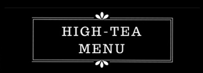 High-tea  |  Zoet  |  Hartig